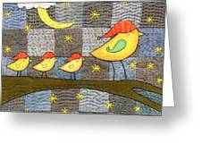Time For Bed Greeting Card by Julie Bull