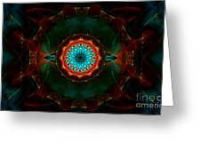 Time Gate Greeting Card by Hanza Turgul