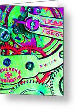 Time In Abstract 20130605m72 Greeting Card by Wingsdomain Art and Photography