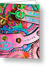 Time In Abstract 20130605p144 Greeting Card by Wingsdomain Art and Photography