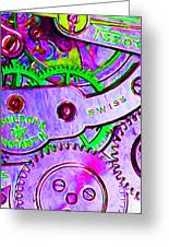 Time In Abstract 20130605p72 Long Greeting Card