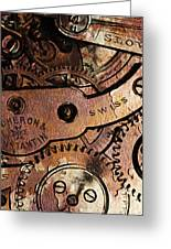 Time In Abstract 20130605rust Long Greeting Card by Wingsdomain Art and Photography