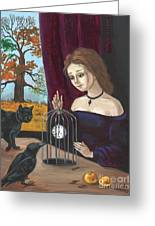 Time In The Cage Greeting Card