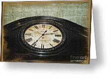 Time Is Fleeting Greeting Card