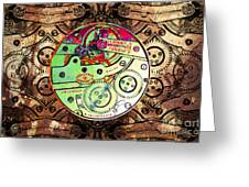Time Machine 20130606 Greeting Card by Wingsdomain Art and Photography