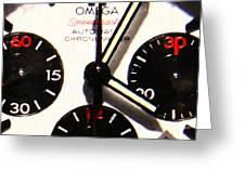 Time Piece - 5d20658 Greeting Card