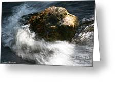 Time Rushing By Greeting Card