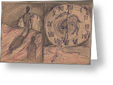 Time Slaves Greeting Card