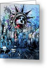 Times Square 2 Greeting Card