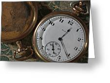 Time Squared 6 Greeting Card
