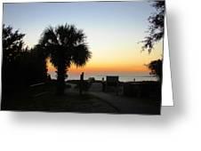 South Carolina Edisto Beach Greeting Card by Ella Char