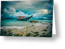 Time To Rest Greeting Card