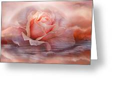 Time To Say Goodbye Rose Greeting Card