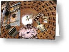 Time Tunnel Greeting Card