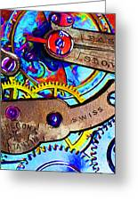 Time Waits For Nobody 20130605 Greeting Card by Wingsdomain Art and Photography