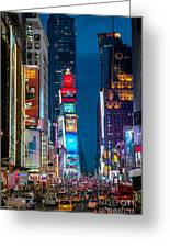 Times Square I Greeting Card