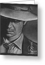 Timothy Olyphant 2 Greeting Card
