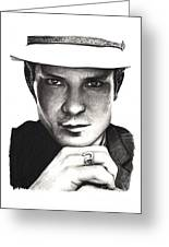 Timothy Olyphant Greeting Card by Rosalinda Markle