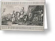 Timur Lenk (variously Spelt)  Asiatic Greeting Card
