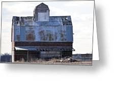 Tin Grainery Greeting Card