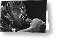 Tina Turner 1 Greeting Card
