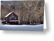 Tinglers Mill Paint Bank Greeting Card