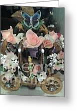 Tinkerbell Carriage Greeting Card