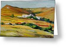 Tinos Greeting Card by George Siaba