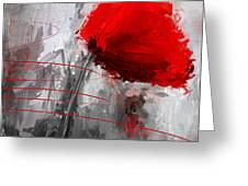 Tint Of Red Greeting Card