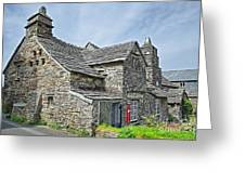 Tintagel Post Office  Greeting Card