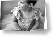 Tiny Dancer Greeting Card by Stephanie Grooms