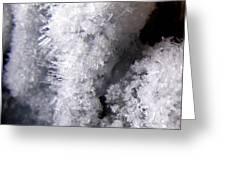 Tiny Ice Greeting Card