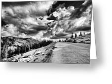 Tioga Pass Greeting Card