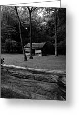 Tipton Place In Cades Cove Greeting Card
