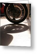 Tire Greeting Card