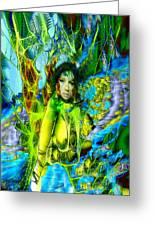Titania-midsummers Night Dream Greeting Card