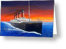 Titanic Greeting Card