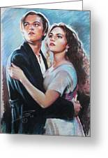 Titanic Jack And Rose Greeting Card