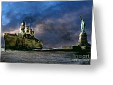 Titanic Late Arrival Greeting Card