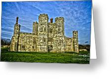 Titchfield Abbey Hdr Greeting Card