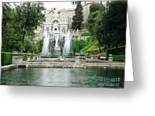 Tivoli Fountains Greeting Card