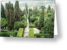 Tivoli Italy Park Greeting Card
