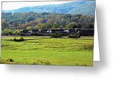 Tn Train Greeting Card
