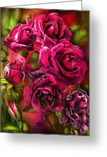 To Be Loved - Red Rose Greeting Card