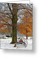 To Everything There Is A Season... Greeting Card by Diane E Berry