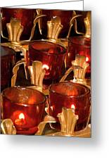 To Lite A Candle Greeting Card