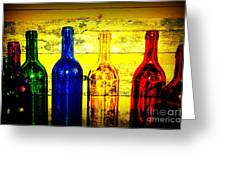 To Much Of Wine Greeting Card