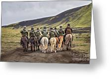 To Ride The Paths Of Legions Unknown Greeting Card