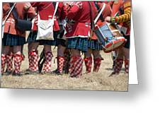 To The Feet Of A Differant Drummer Greeting Card
