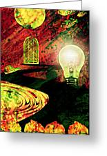 To The Light Greeting Card
